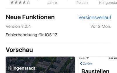 """""""Mensch, Solingen"""" App"""
